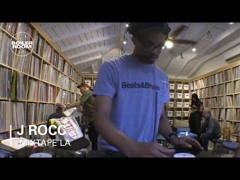 J Rocc Electro, Breaks, Disco and Hip-Hop Mixtape   Boiler Room LA