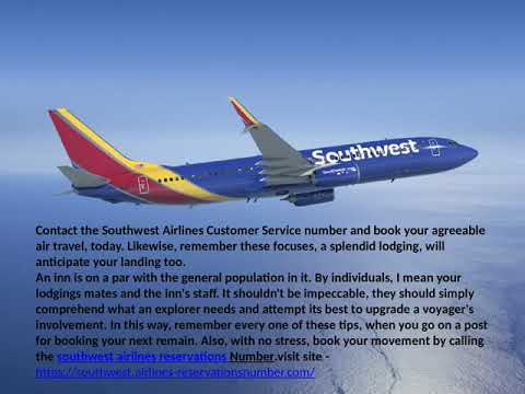 Southwest Airlines Reservations 1 (855) 500-0239
