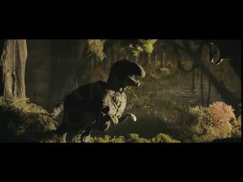 Stop Motion Dinosaur Jungle Set (Lighting Tests)