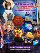 """Rick Strassman MD, author of """"DMT and the Soul of Prophecy"""" 09.09.2020 Earth Origins"""