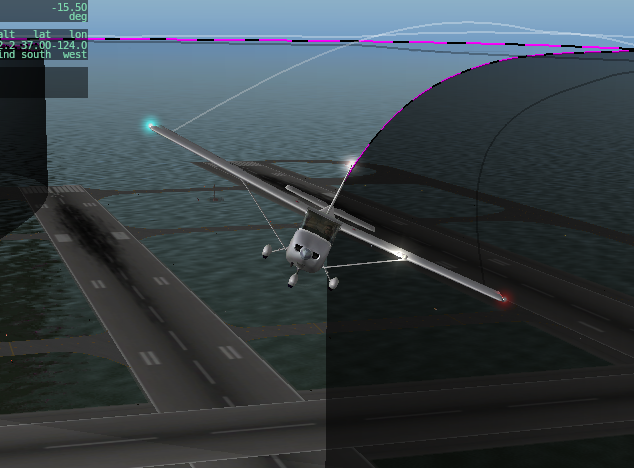 X-Plane HIL simulator, now with Auto Takeoff and Landing