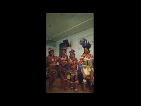Wapishana Indigenous people do Cordon like dance