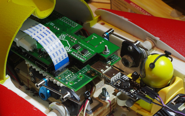 Dedicated telemetry board for the Raspberry Pi - DIY Drones