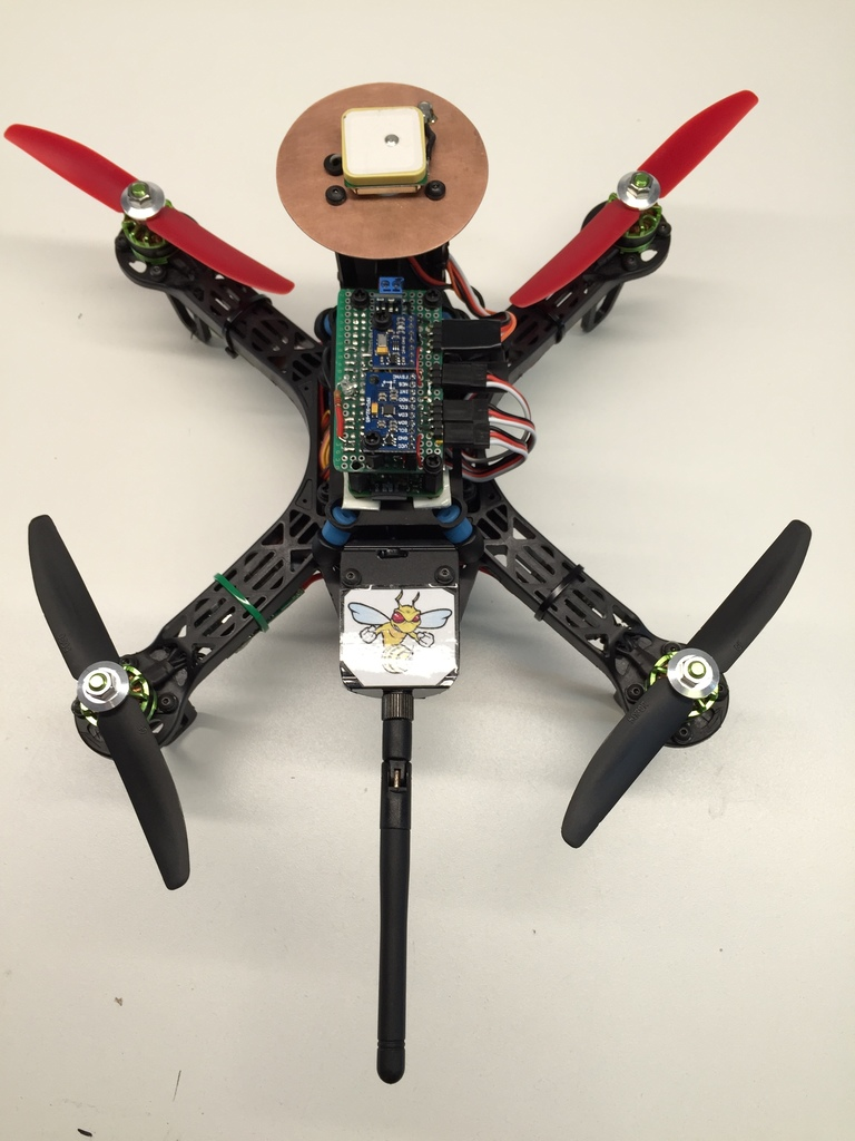 MINI-Zee: a $100 DIY smart drone with the Pi Zero and APM