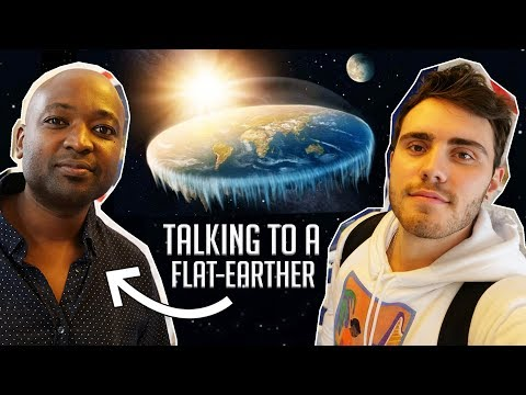 Meeting & Interviewing A Flat-Earther!