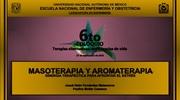 "Josué Naim Fernández Matamoros. Ponencia ""Masoterapia y aromaterapia: Sinergia terapéutica para afrontar el estrés""."
