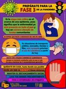 Josué Naim Fernández Matamoros. Infografía sobre la fase 3 del coronavirus.
