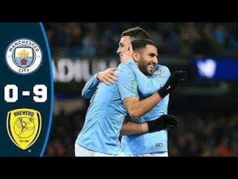 ไฮไลท์ฟุตบอลเมื่อคืน EFL Cup 2019 แมนฯ ซิตี้ vs เบอร์ตัน อัลเบี้ยน 09/01/2019