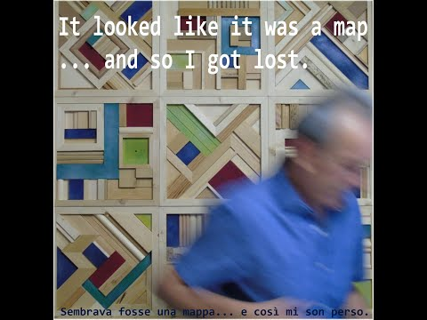 Sembrava fosse una mappa... e così mi son perso.