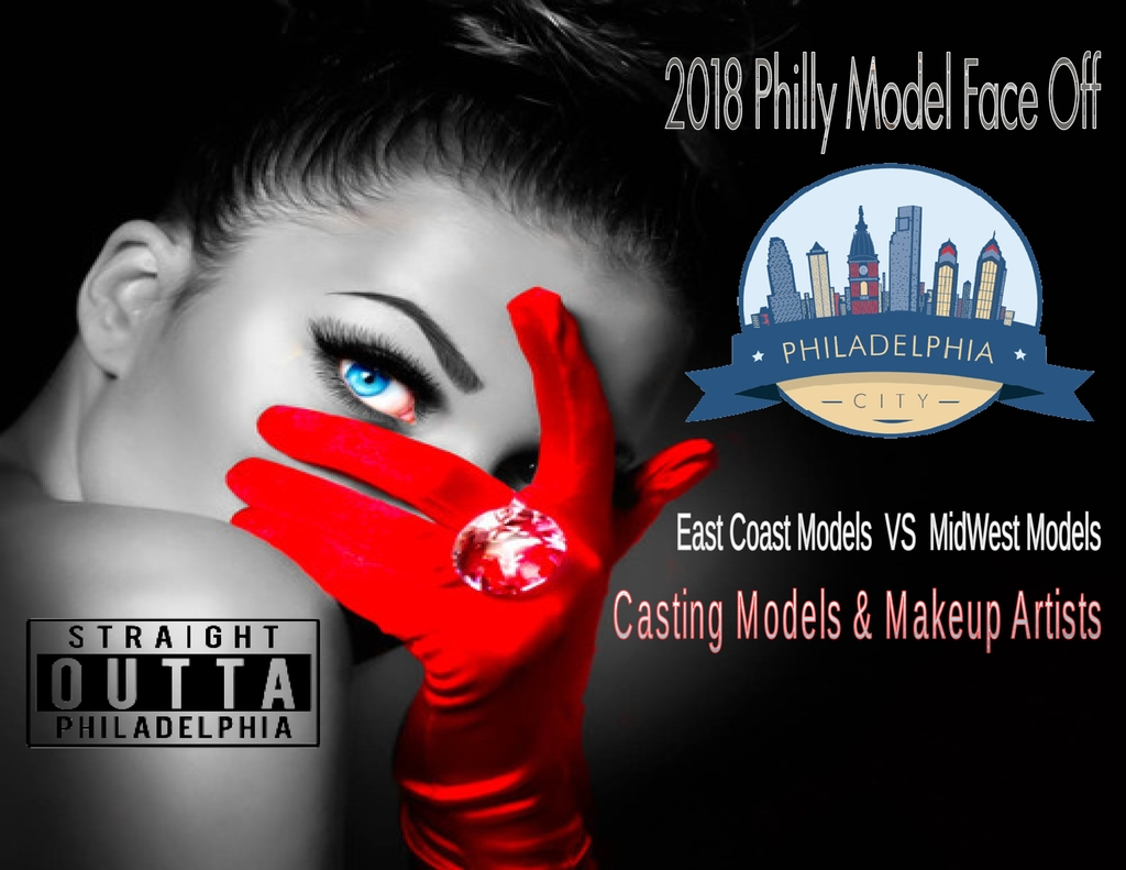 2018 Philly Model Face Off Model and Makeup Artists Casting