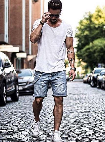 5159e3b8f184 Every man should have at least five essential items of clothing in their  wardrobe as summer temperatures soar. Making sure you have these items in  your ...