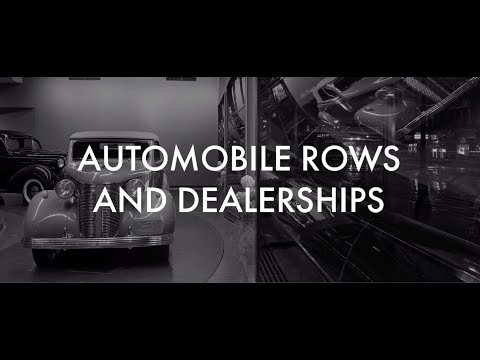 Steering History: Automobile Rows and Dealerships
