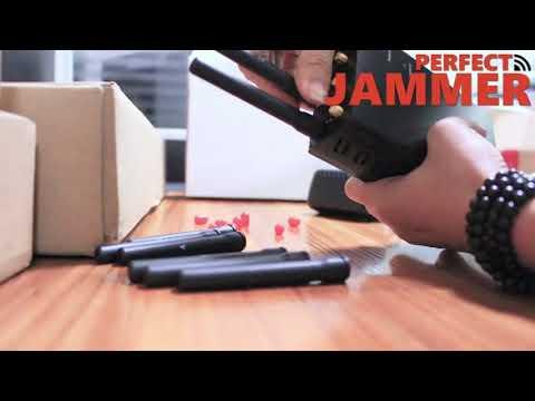 8 Bands Handheld Jammers 2G 3G 4G LOJACK