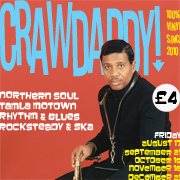 Crawdaddy! with guest DJ Mike Warburton