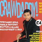 Crawdaddy! with guest DJ Mike Warburton