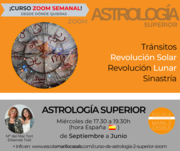 CURSO ZOOM ASTROLOGÍA 2, SUPERIOR