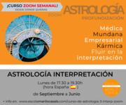CURSO ZOOM ASTROLOGÍA 3, INTERPRETACIÓN