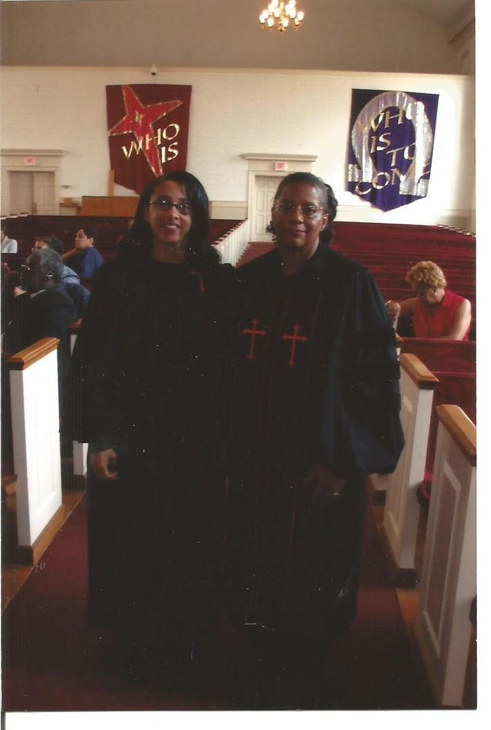 REV. ELDER ELAINE STEELE AND REV. DR. ELDER MARTHA LEWIS RECEIVED HOLY ORDERS ORDINATION