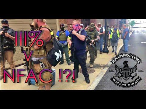 MILITIA v NFAC !?!? MILITIA STAND OFF IN #LOUISVILLE KY #KENTUCKY