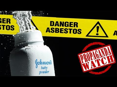 Asbestos Found in Baby Powder. You'll Never Guess How J&J Respond!... #PropagandaWatch