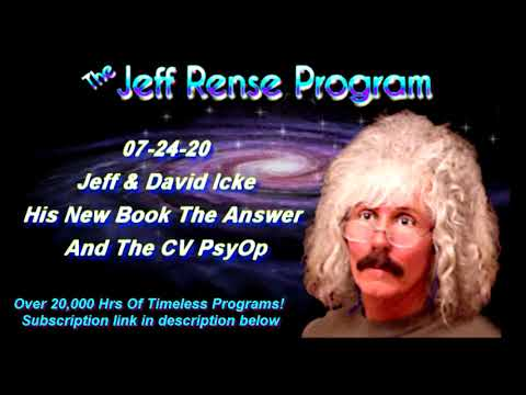 Jeff & David Icke - His New Book 'The Answer' And The CV PsyOp