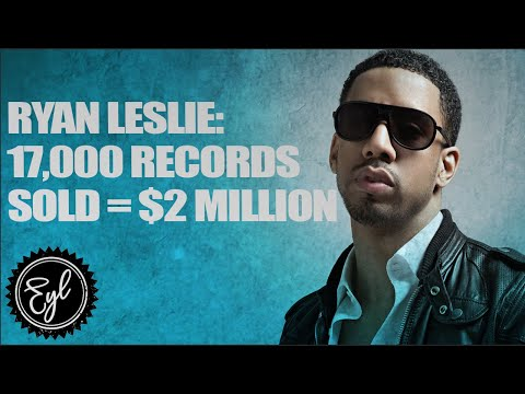 RYAN LESLIE MADE $2 MILLION OFF AN ALBUM THAT SOLD 17,000 COPIES