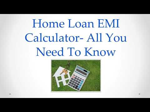 What is Home Loan EMI Calculator? How to use it?