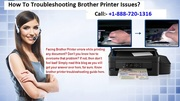 Troubleshooting Brothter Printer