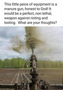 Manure Gun