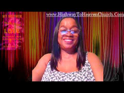 Dr. Sylvia Black, PhD, My Mother Was My First Love Introduction Pt 2