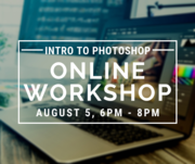 Introduction to Photoshop - FREE Online Workshop