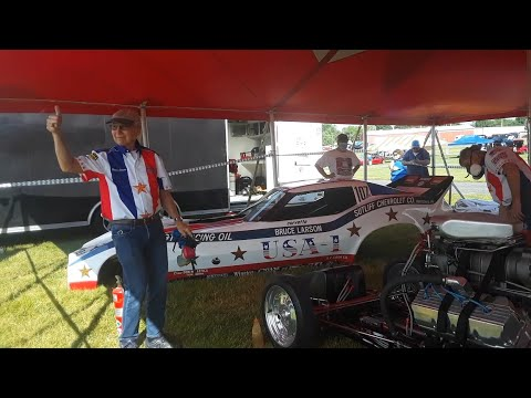 Bruce Larson's NitroFest At the 2020 Chevrolet Nationals