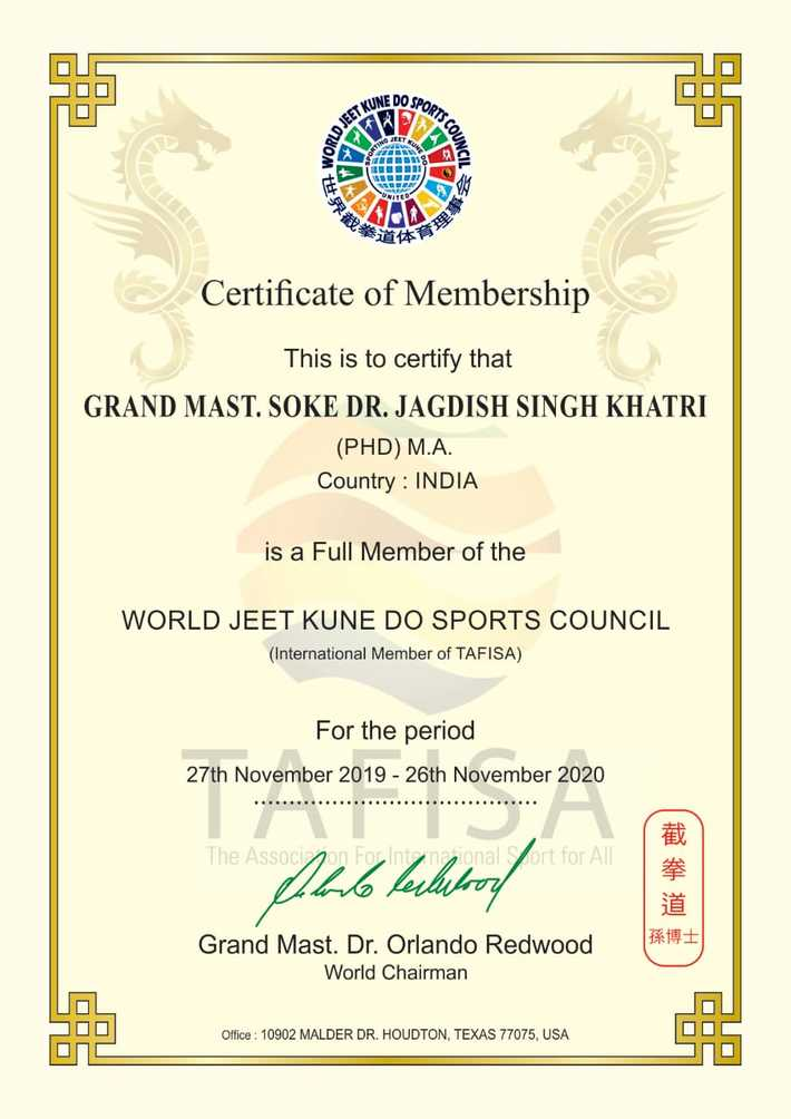 WORLD JKD SPORTS COUNCIL