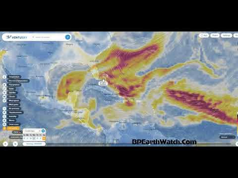 Saharan Dust Arrives in US/Tropical Storm Florida