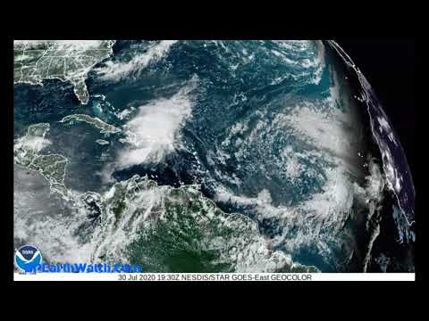 Hurricane Isaias Forming/Cat 1/Friday Night