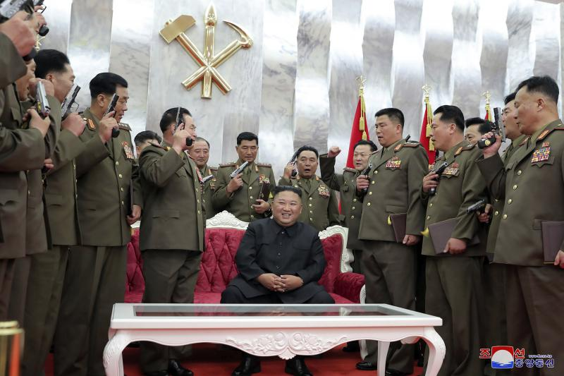 Kim Jong Un Says Nuclear Weapons Ensure North Korea's Security