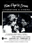 French Literature & Cinema: From Page to Screen Workshop Series