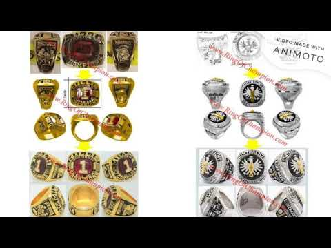 Customized Championship Rings