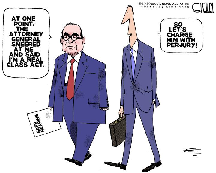 Barr vs Nadler Class Act Perjery