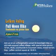 Sunset & Full-Moon Hike around Lefkes