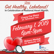 February 1st First Friday: Get Healthy, Lakeland!
