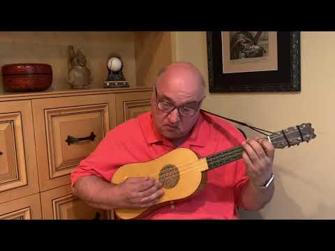 Conte Clare by Morlaye for Renaissance Guitar