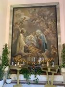 San Giuseppe tra Gesù e Maria