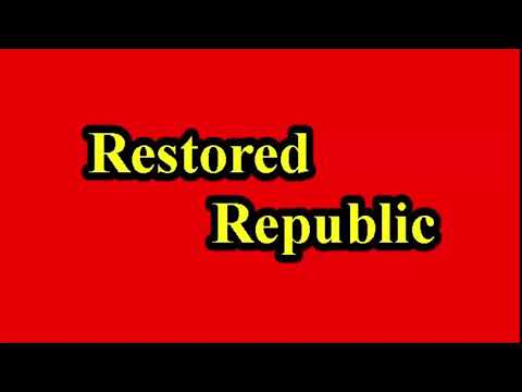 Restored Republic via a GCR Update as of Aug  3, 2020