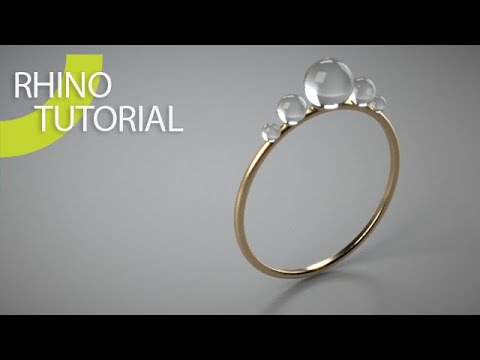 Rhino 3D Intro Ring