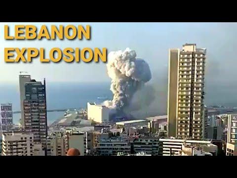 ENORME EXPLOSIÓN EN EL LIBANO