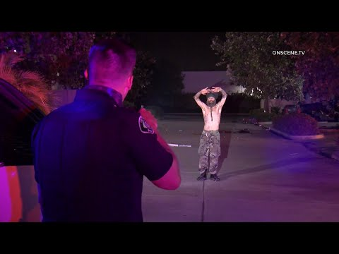 Arsonist Caught In The Act By Officers In Ventura