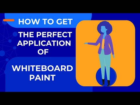 Tips to Get the Perfect Application of Whiteboard Paint