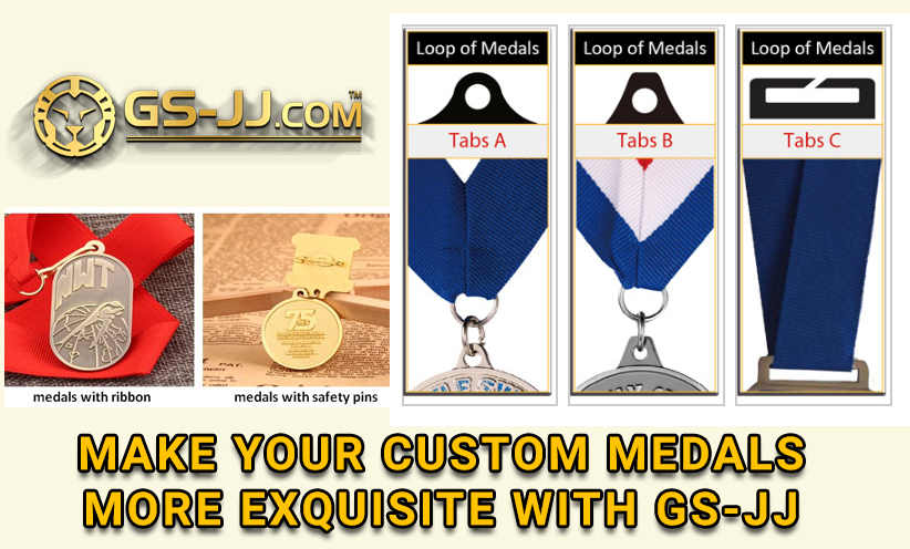 Make your custom medals more exquisite with GS-JJ