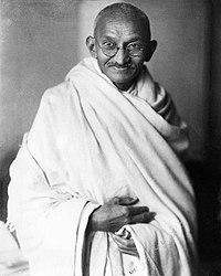Mahatma-Gandhi .